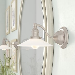 Mullinix 1-Light Bath Sconce b..