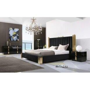Sandvos Platform 5 Piece Bedroom Set