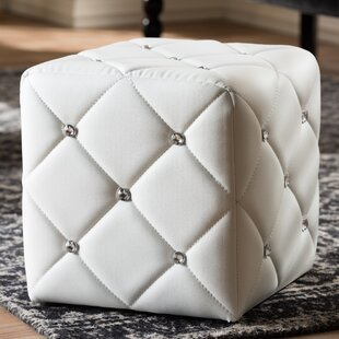 House of Hampton Michels Modern and Contemporary Cube Ottoman