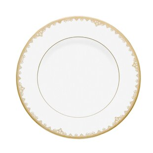 White Plates Gold Trim | Wayfair