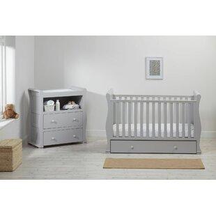 Montreal Cot 2 Piece Nursery Furniture Set
