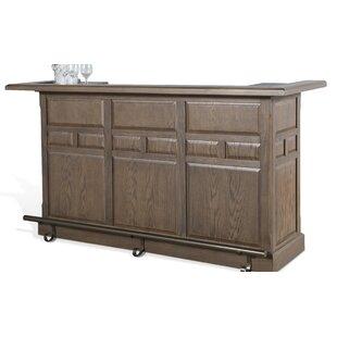 Elijah Bar Cabinet (Set of 2) by Gracie Oaks