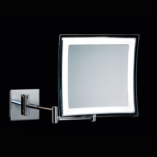 Great Price Spiegel Hard Wired Makeup Bathroom/Vanity Mirror By WS Bath Collections