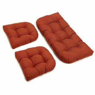 Orange Patio Furniture Cushions