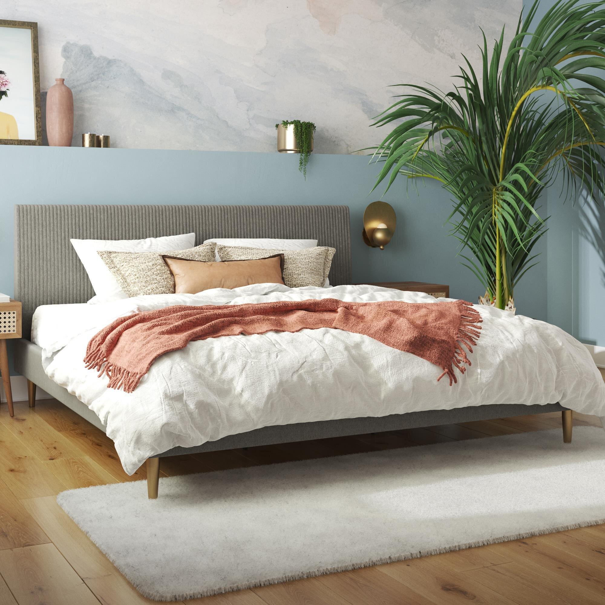 Mr Kate Daphne Upholstered Platform Bed Reviews Wayfair