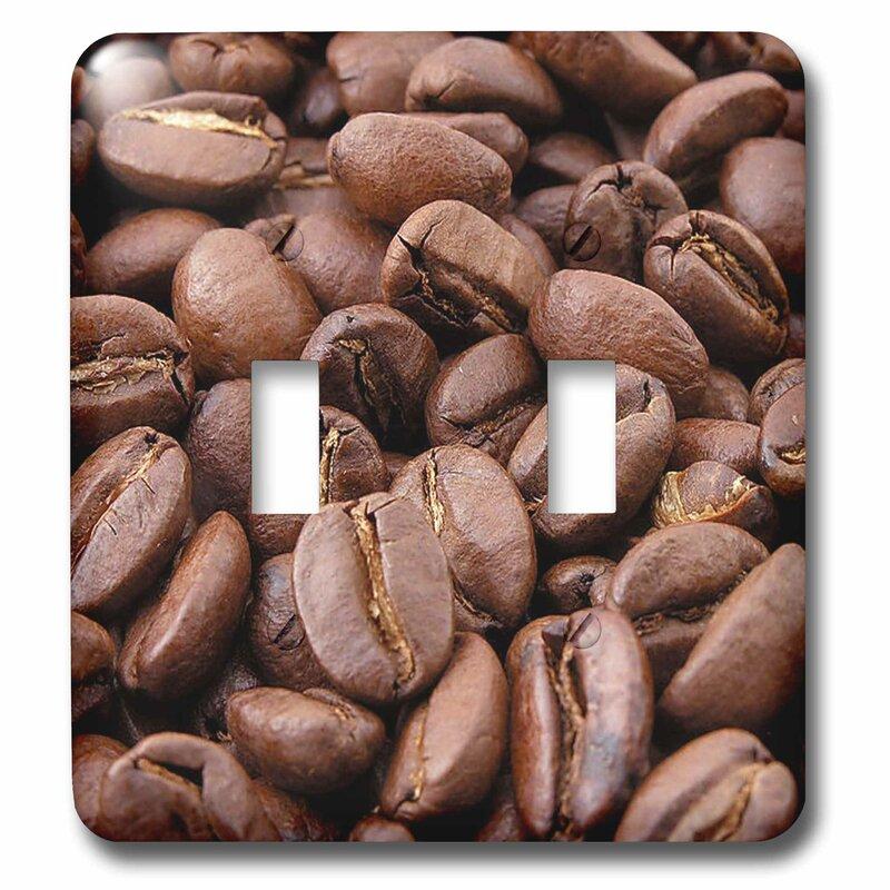 3drose Dried Food Coffee Beans 2 Gang Toggle Light Switch Wall Plate Wayfair