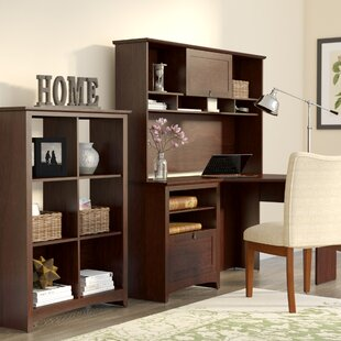 Darby Home Co Fralick 3 Piece Cherry Desk Office Suite