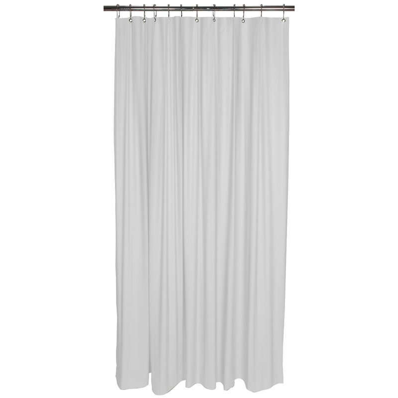 Symple Stuff Vinyl Shower Curtain Liner & Reviews | Wayfair
