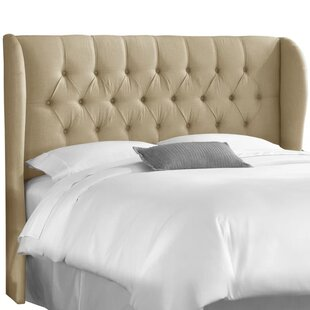 Elsa Upholstered Wingback Headboard by SkylineExpress