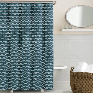 Solid Teal Shower Curtain