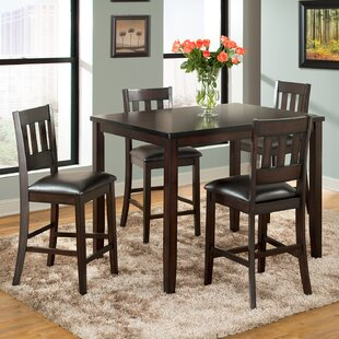Americano 5 Piece Pub Table Set