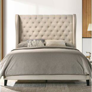 Jeri Queen Upholstered Panel Bed