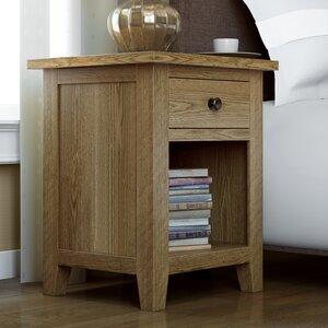 Hamptonburgh 1 Drawer Bedside Table