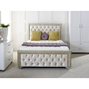 Maddison Upholstered Sleigh Bed By Willa Arlo Interiors