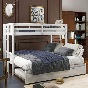 Juanes Twin over Twin over Full Bunk Bed with Trundle