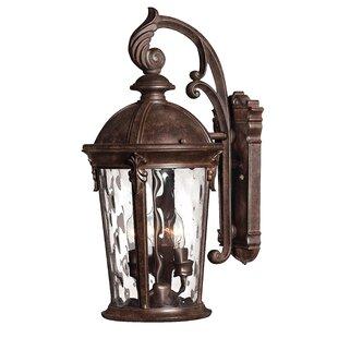 Windsor 3-Light LED Outdoor Wall Lantern by Hinkley Lighting