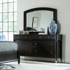 Vibe 7 Drawer Dresser with Mirror by Broyhill?