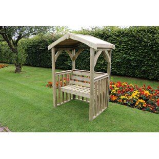 Fremont Wooden Arbour By Sol 72 Outdoor