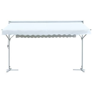 Bogner Free Standing W 4 X D 3m Retractable Patio Awning By Sol 72 Outdoor