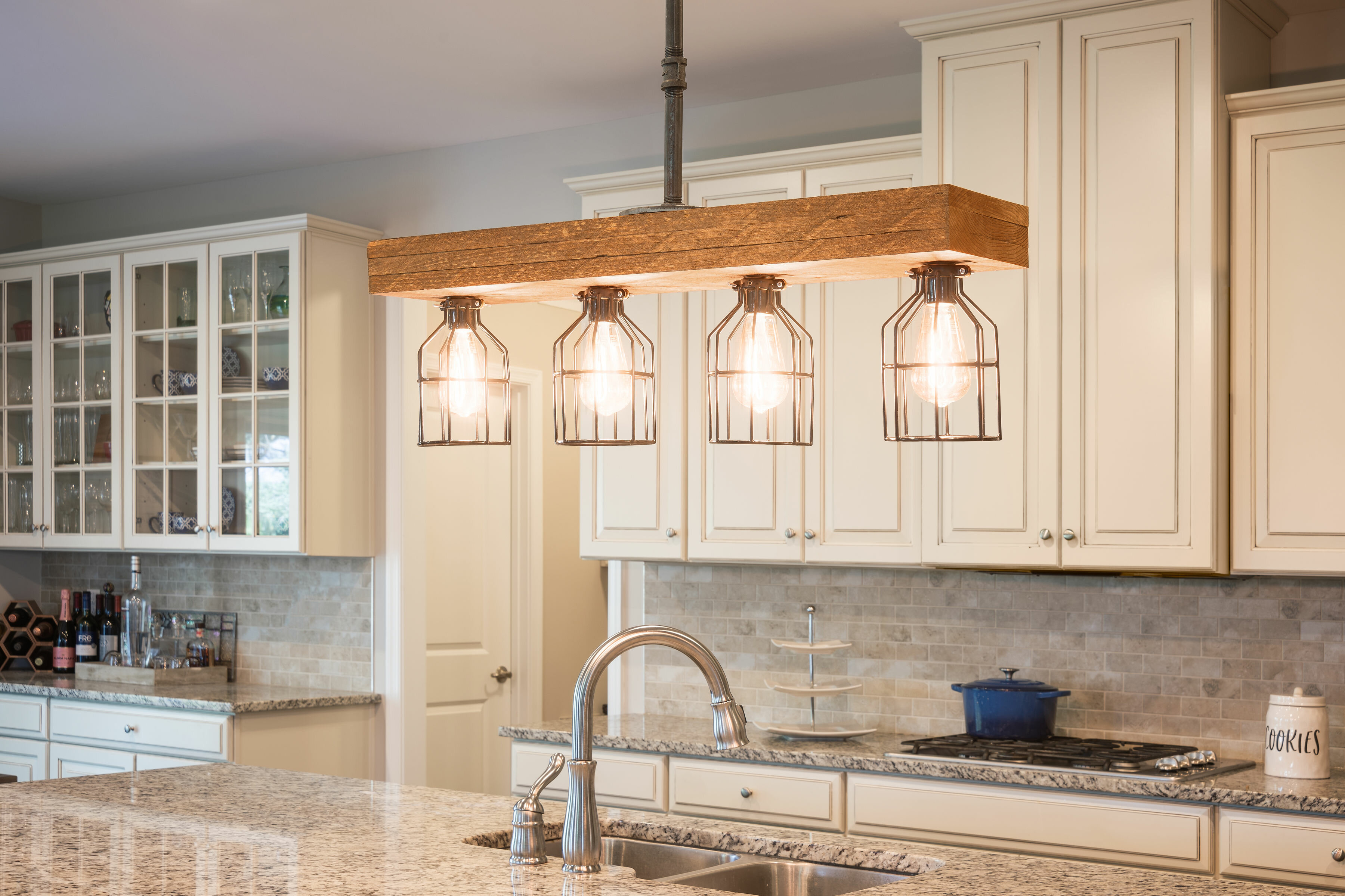 Varley 4-Light Kitchen Island Pendant