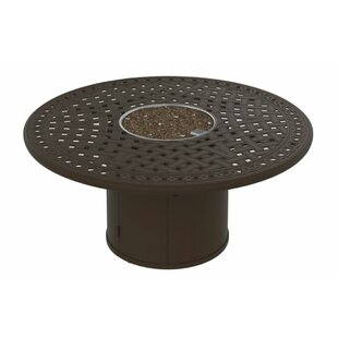Tropitone Garden Terrace Aluminum Fire Pit Table
