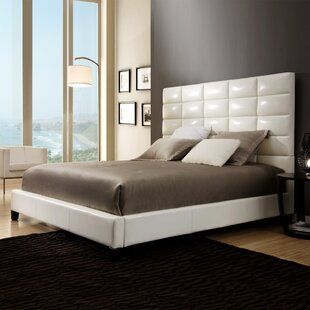 Rose Upholstered Panel Bed