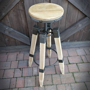 Casey Height Adjustable Swivel Bar Stool By Williston Forge