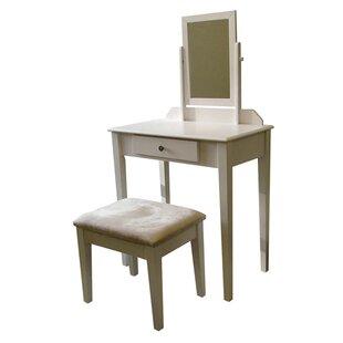 Vivian 3 Piece Vanity Set by ORE Furniture