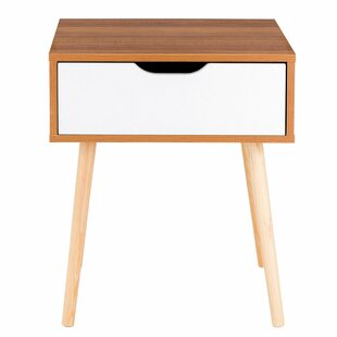 Turn on the Brights Maybery 1 Drawer Nightstand