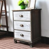 Villalta 3 Drawer Nightstand by Ophelia & Co.
