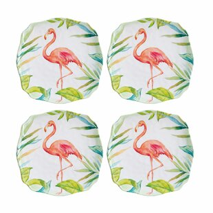 Mayna Melamine Appetizer Plate (Set of 4)
