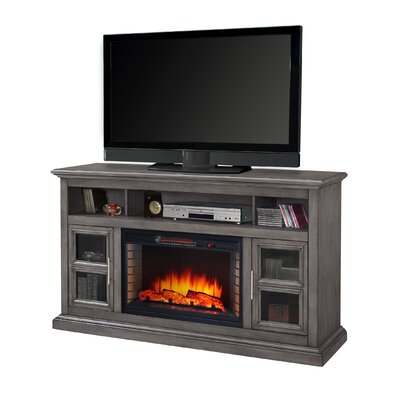 Find The Perfect 60 69 Inch Grey Tv Stand Fireplaces Wayfair