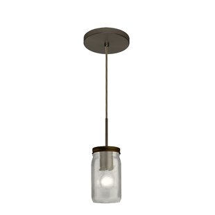 Besa Lighting Milo 1-Light Jar Pendant