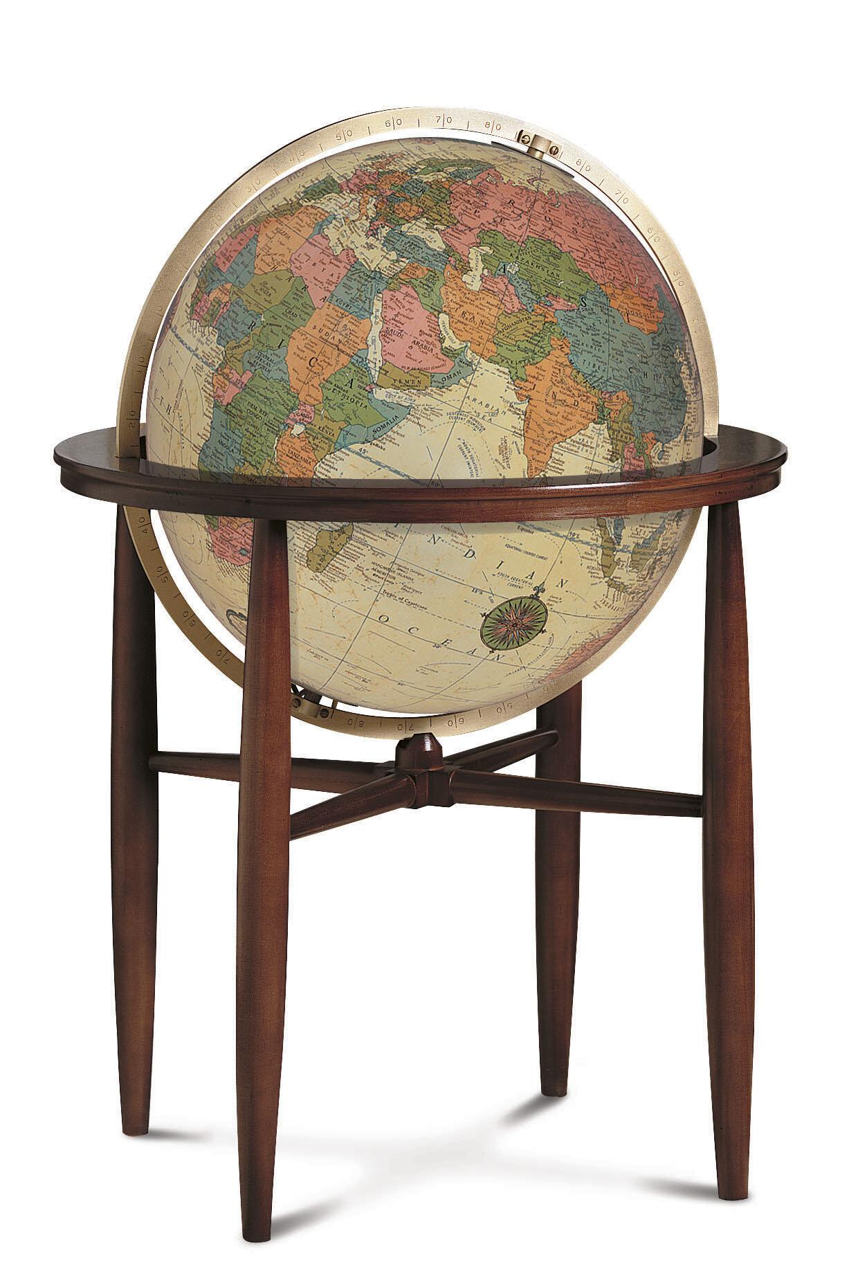 - Replogle Austin Antique Illuminated World Globe Wayfair