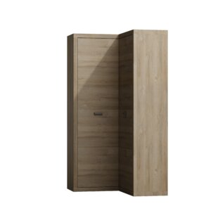 Naswith Corner Wardrobe By Mercury Row