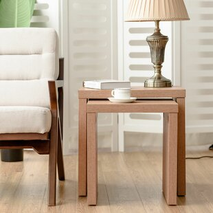 Ebern Designs Nick 2 Piece Nesting Tables