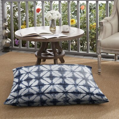 Keanu Indoor/Outdoor Floor Pillow by Bungalow Rose Modern