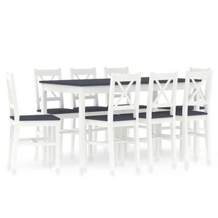Review Braxten Dining Set With 8 Chairs