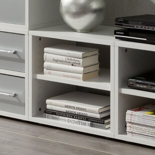 Caster Bookcase By Rebrilliant