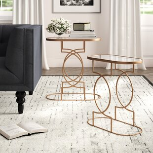 Fabia 2 Piece End Table Set