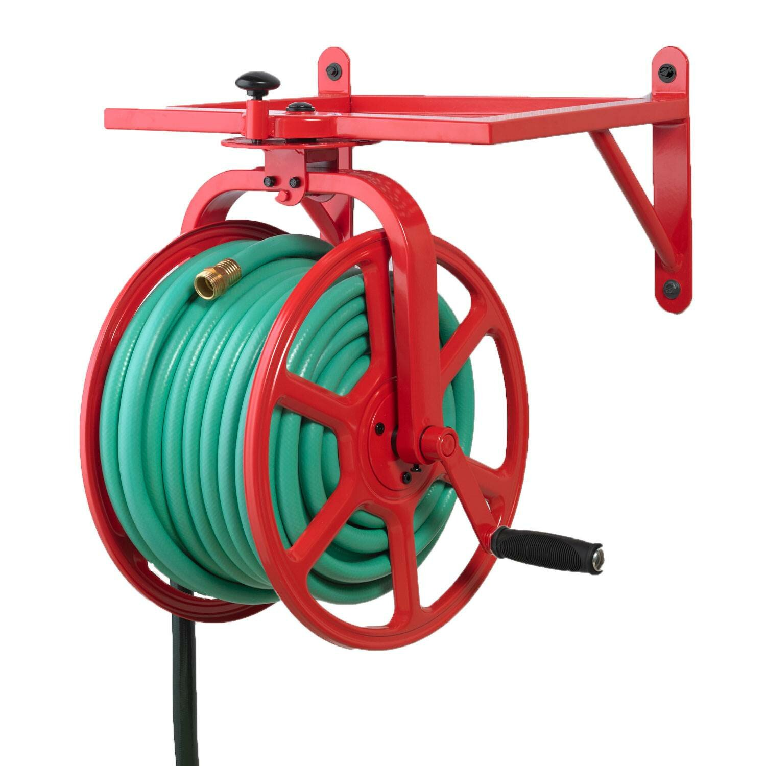 Liberty Garden Products Revolution Grade Garden Wall Mounted Hose Reel Reviews