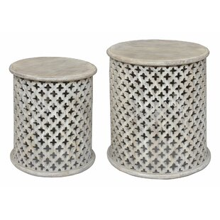 Durgin 2 Piece Nesting End Table