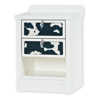Review Bass 2 Drawer Nightstand