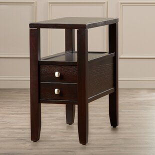 Quinn End Table by Red Barrel ..