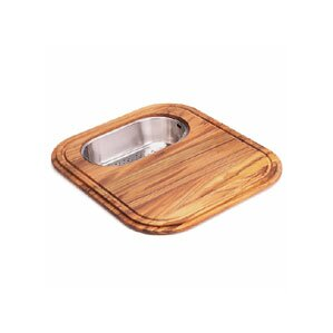 Euro Pro Wooden Cutting Board With Colander In Teak