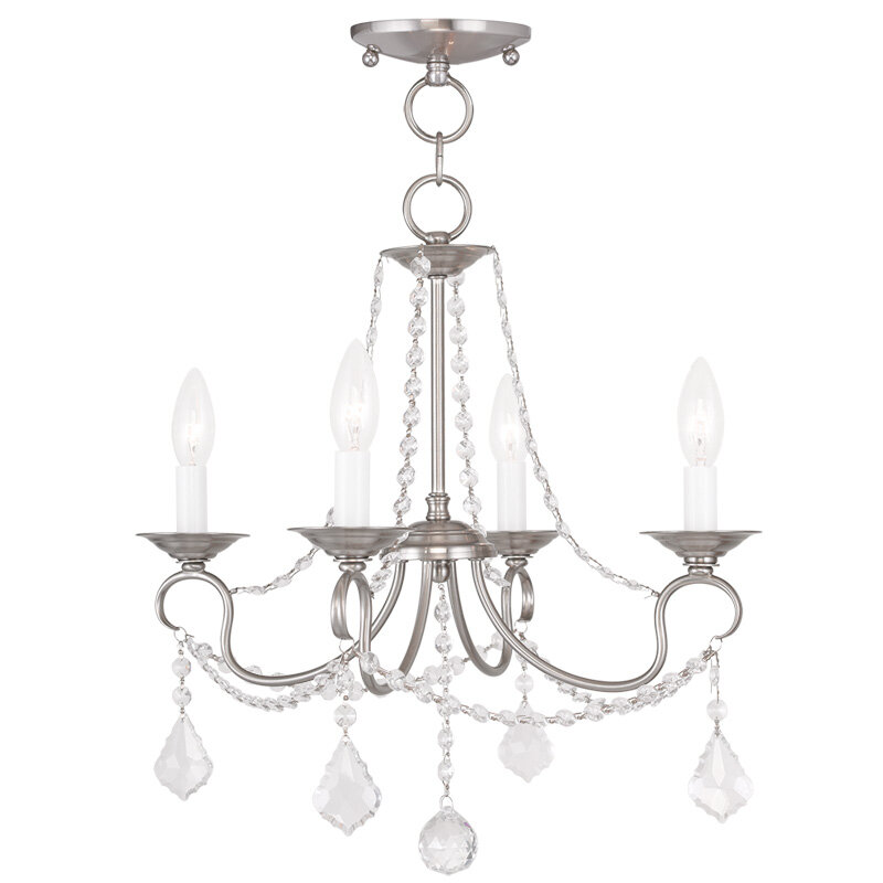 Devana 4 Light Candle Style Classic Traditional Chandelier Reviews Joss Main
