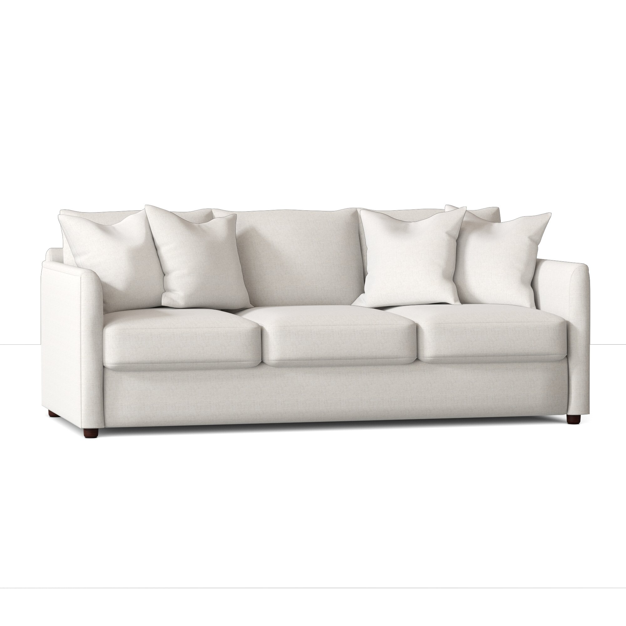 Alice Cotton 85 Square Arm Sofa
