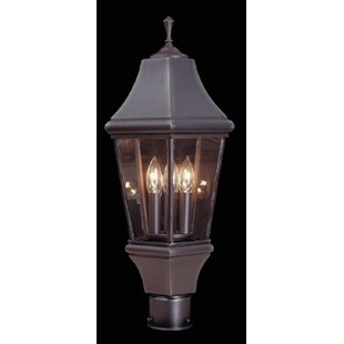 Middlebury Outdoor 3-Light Lantern Head by Fleur De Lis Living