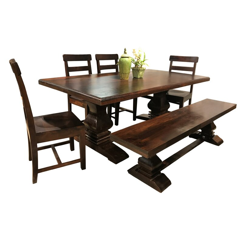 Hawksbill Trestle Dining Table