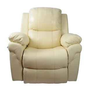 Newacme LLC MCombo Vibrating Swivel Reclining Massage Chair with Heated Lounge